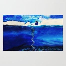 Tardis Cloud Rug