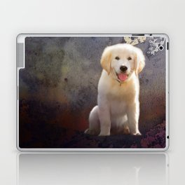 Golden Retriever Puppy Laptop & iPad Skin