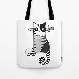Zombie – Cat Of Horror Tote Bag
