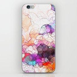 Geometric / Circular Landscape Art iPhone Skin