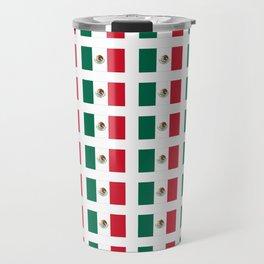 Flag of mexico 3 - mexico,mexico city,mexicano,mexicana,latine,peso,spain,Guadalajara,Monterrey Travel Mug
