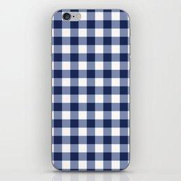 Gingham iPhone Skin