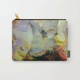 Peony foam inside exploded with joy Carry-All Pouch
