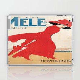 Vintage poster - Mele Estate Laptop & iPad Skin
