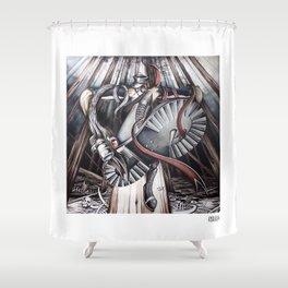 Pressure Drop Shower Curtain