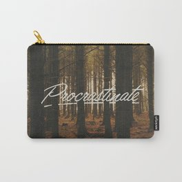 procrastinate Carry-All Pouch