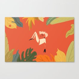 Self Potrait Canvas Print