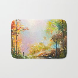 FALL FOREST Bath Mat
