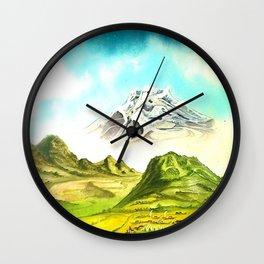 EL PUEBLO Wall Clock