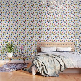 1980s retro pattern (Version 2) Wallpaper