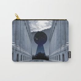 Keyhole to Infinity Carry-All Pouch