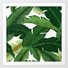 banana leaves art prints society6