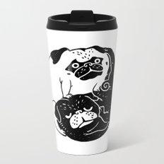 The Tao of Pug Metal Travel Mug