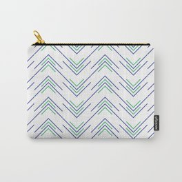 Sharp ZigZag Pattern Carry-All Pouch