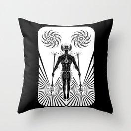 Caretaker of the Galaxy Throw Pillow