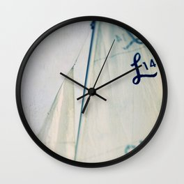 Sail #2 Wall Clock
