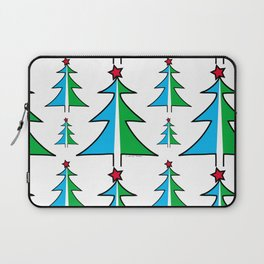 Christmas Tree Pattern Laptop Sleeve