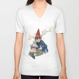 Over the garden wall Unisex V-Neck