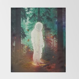 The Lost One Throw Blanket