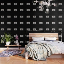 Chinese zodiac sign Rabbit black Wallpaper