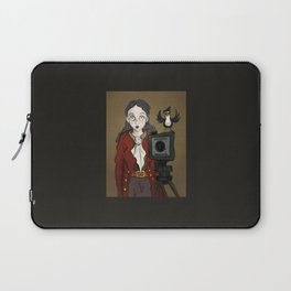 Smile at the little birdie Laptop Sleeve