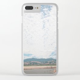 Cloudy Sky, September Clear iPhone Case