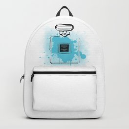 Blue Perfume #2 Backpack