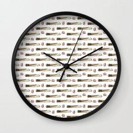Razors,Barnacles and Nautilus Wall Clock