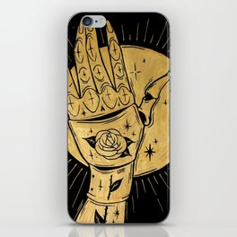GOLDEN KNIGHT iPhone Skin