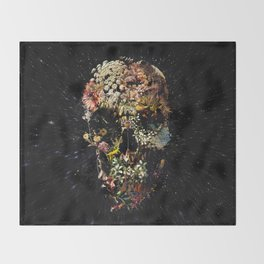 Smyrna Skull Throw Blanket