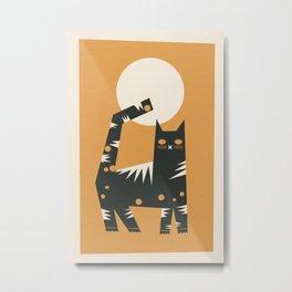 Cat Metal Print