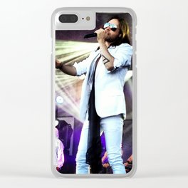 Jared Leto - Jimmy Kimmel Live Clear iPhone Case