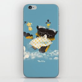 Corujitear (to owl) - Rodrigo Troitiño iPhone Skin