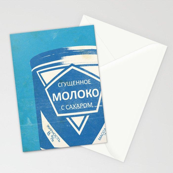 Condensed Milk (Sgushchennoye Moloko) Stationery Cards