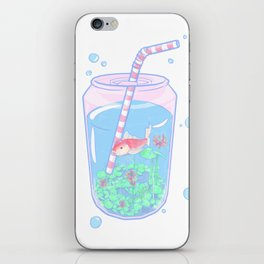 Koi Fish Can iPhone Skin