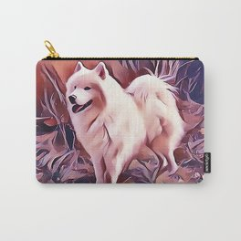 The Siberian Samoyed Carry-All Pouch