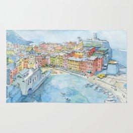 Vernazza, Cinque Terre, Italy Rug