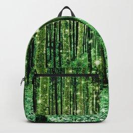 Magical Forest Green Elegance Backpack