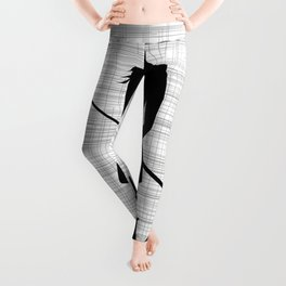 Girl With Microphone Leggings
