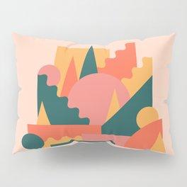 Flat castle 1 Pillow Sham