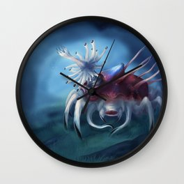 Pale Sea Devil Wall Clock