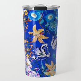 Surreal Floral Travel Mug