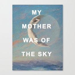 Selene of the Sky Canvas Print
