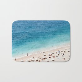Areal Beach Photography Bath Mat