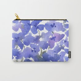 Beautiful Blue Delphiniums Carry-All Pouch