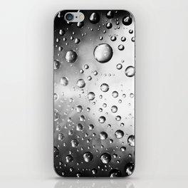 water drops iPhone Skin