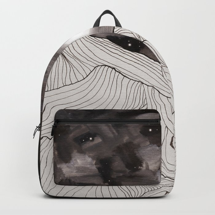 Lines in the mountains III Backpack