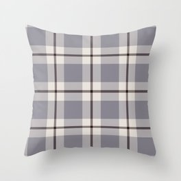 big light weave monochrome Throw Pillow