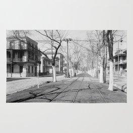 Esplanade Avenue, New Orleans, 1900 Rug