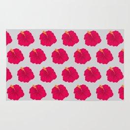 Hibiscus pattern_RA Rug